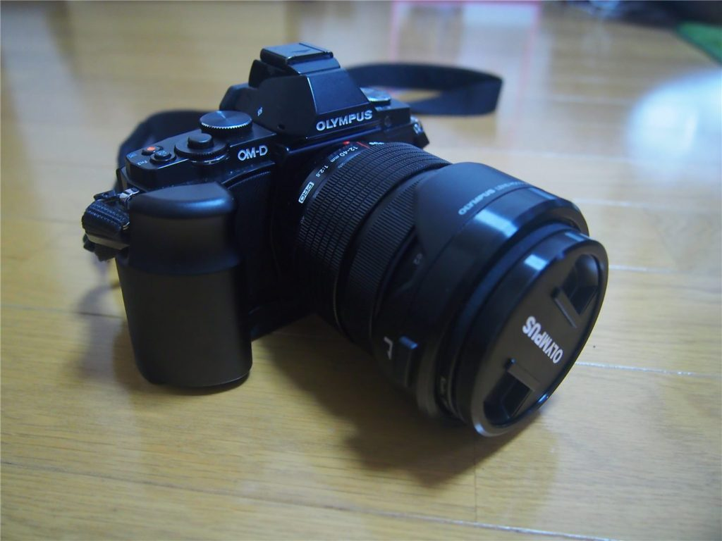 M.ZUIKO12-40mmF2.8とE-M5