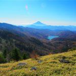 上日川ダムと富士山2