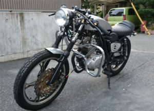 gn125caferacer@2017/10/07斜め前から1
