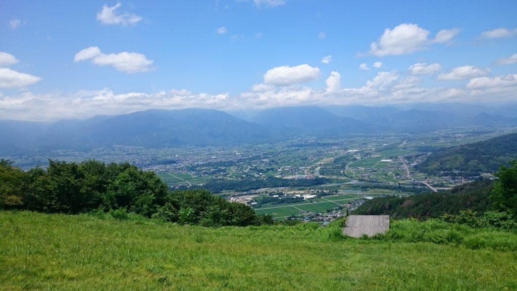 【長野の絶景】長峰山休憩展望台に行きました