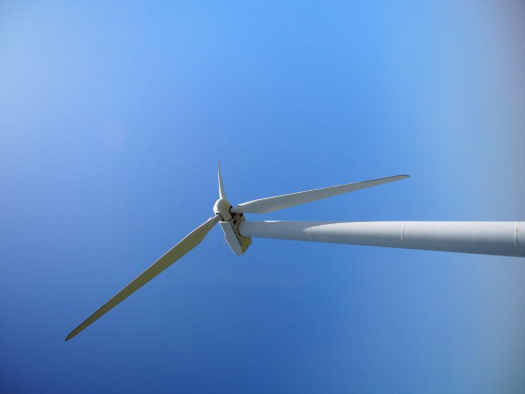 東伊豆風力発電所の風車
