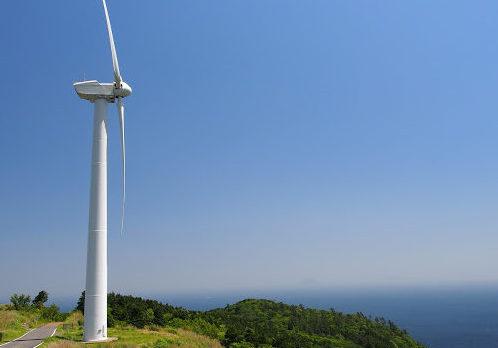 【静岡の絶景】風車と海の見える場所。東伊豆風力発電所