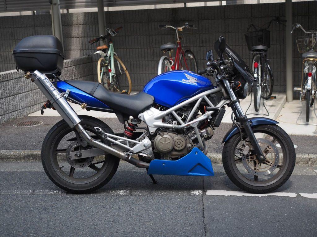 VTR250 サイド
