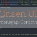 【Phonegap/Cordova + Onsen UI 01】ハイブリッドアプリに最適なOnsen UIとは。使い方とか