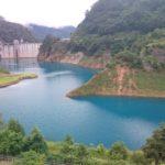 【群馬の絶景】いなつつみせせらぎ公園から見る四万川ダムは美しい…もっと評価されるべき!