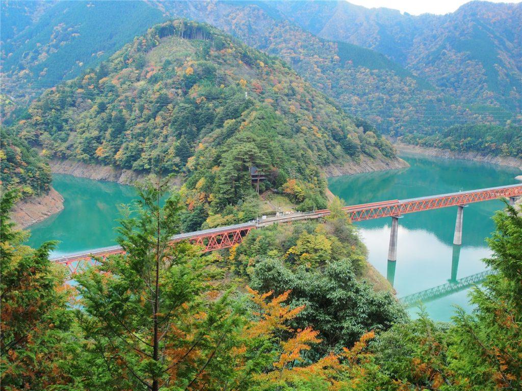 【静岡の絶景】奥大井湖上駅に行ったよ!寸又峡とセットがオススメです。
