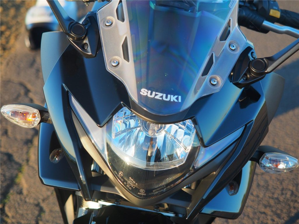 GSX250R ヘッドライト