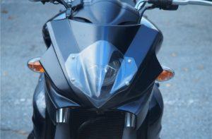 【グラディウス400 カスタム】ストファイ的なヘッドライトに交換2。完成です