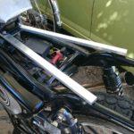 【バイク】自作(DIY)シートフレームの強度計算をしてみる