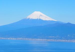 【絶景スポット】西伊豆のだるま山高原レストハウス裏からの富士山x駿河湾の景色はホントに美しいんです…【静岡】