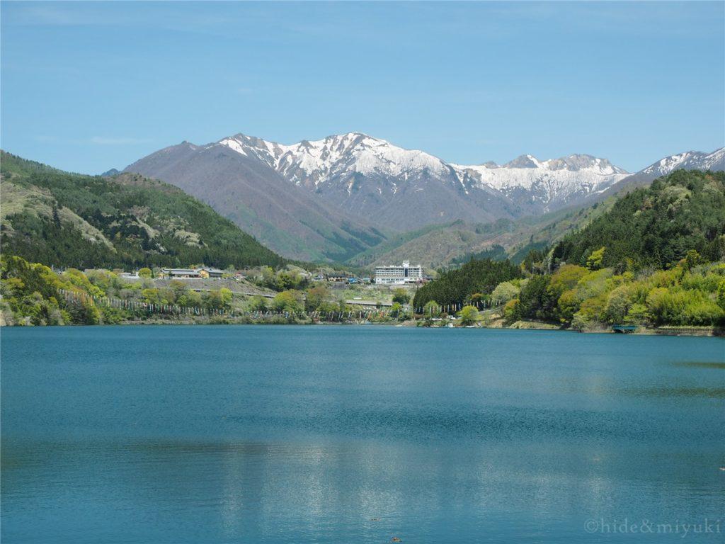 【群馬の絶景】赤谷湖 展望台からの湖x山々の景色は美しい…もっと人気が出てもおかしくないなあと思いました