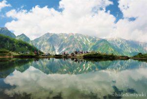 【長野の絶景】八方尾根は日本TOP10に入る絶景!八方池に写る逆さ山脈は天候条件は厳しいけど必見です!