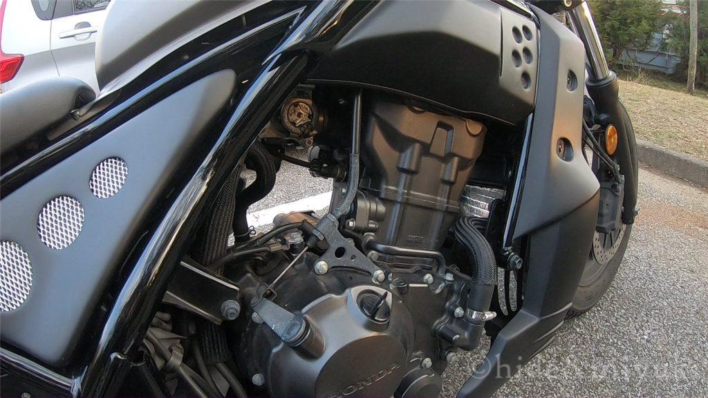 レブル250-エンジン