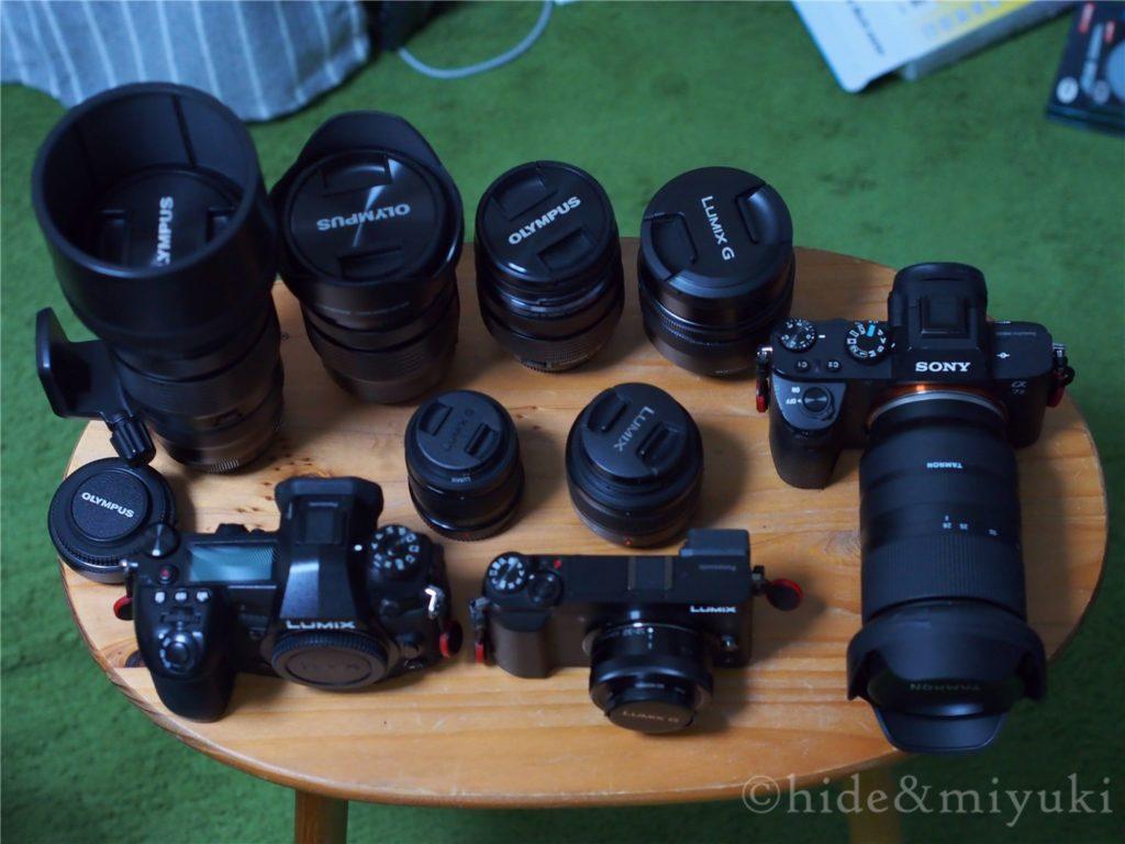 私の愛すべきカメラとレンズたち1