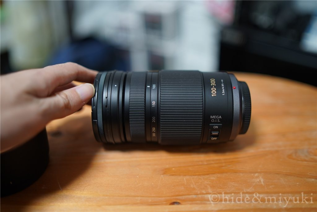Panasonic LUMIX G VARIO 100-300mm F4.0-5.6 の外観2