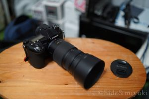 【コンパクトだけど換算600mm!!】Panasonic LUMIX G VARIO 100-300mm F4.0-5.6のレビューします!!