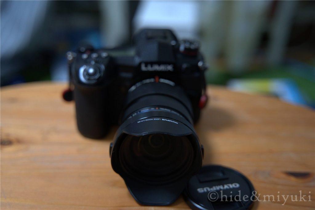 Panasonic G9 PROとM.ZUIKO 12-40mmF2.8PROのフィッティング