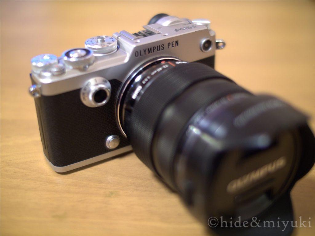 PEN-FととM.ZUIKO 12-40mmF2.8PROのフィッティング