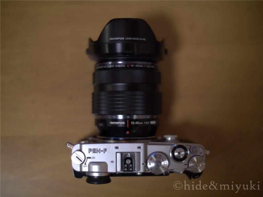 PEN-FととM.ZUIKO 12-40mmF2.8PROのフィッティング2