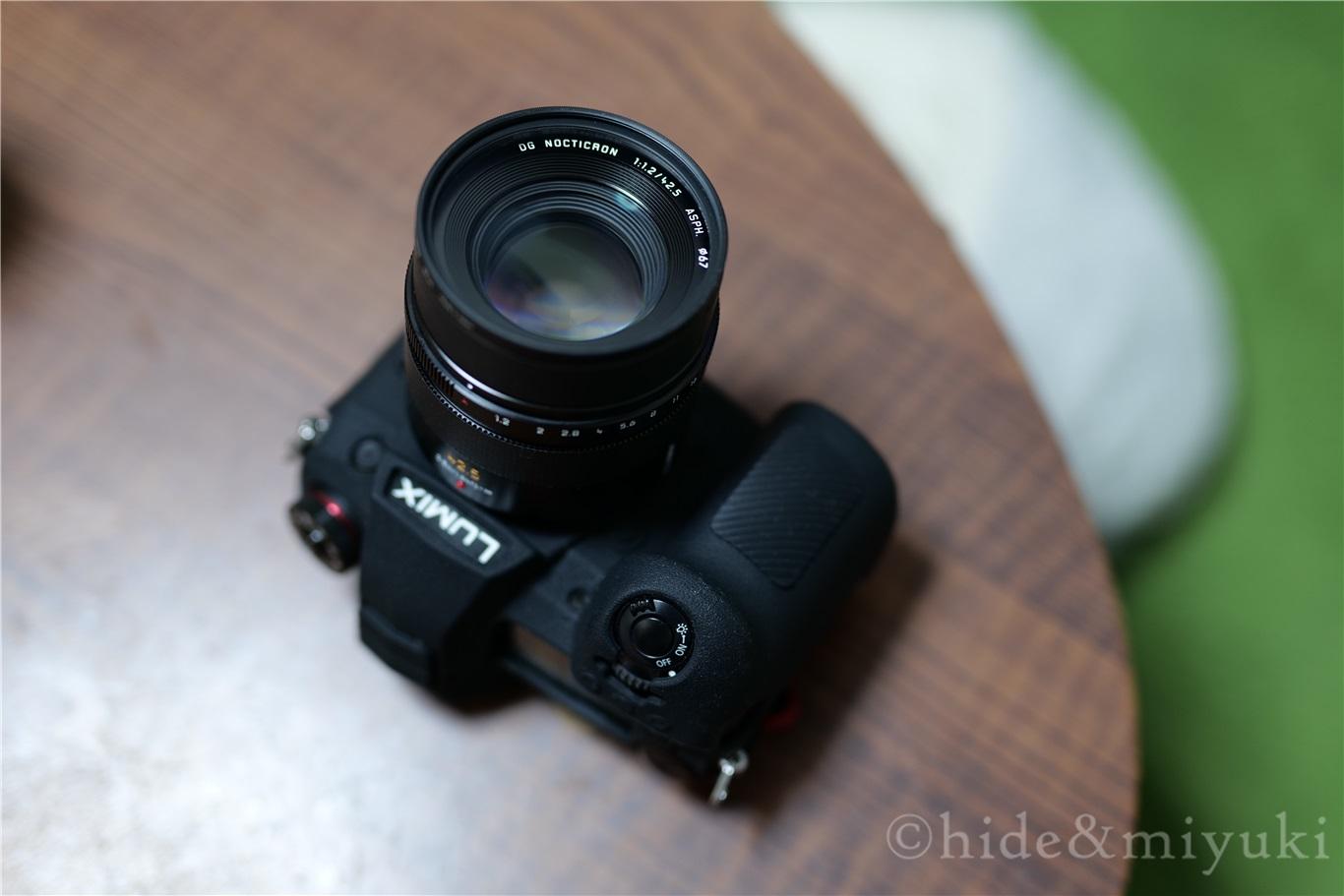 【マイクロフォーサーズ最高のレンズ】Panasonic LEICA DG NOCTICRON 42.5mm F1.2をレビューしていこうと思う【一番好きなレンズです】